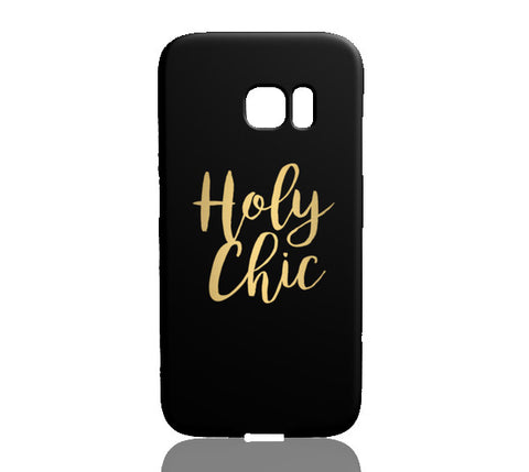 Holy Chic (Gold) - Samsung Galaxy S7 Edge - Cinderbloq Cases & Accessories