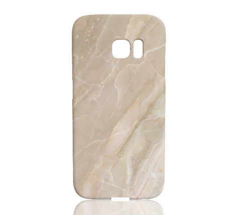 Beige Stone Marble Phone Case - Samsung Galaxy S7 Edge - CinderBloq Cases & Accessories