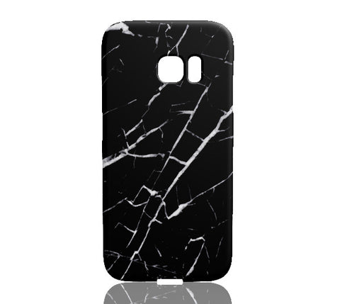 Black and White Marble Phone Case - Samsung Galaxy S7 Edge - CinderBloq Cases & Accessories