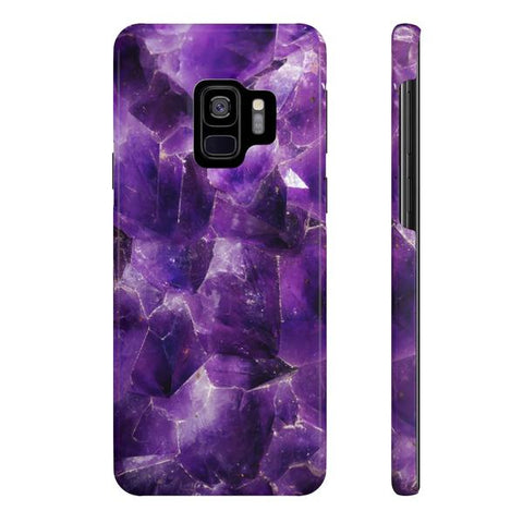 Amethyst Stone Phone Case - Samsung Galaxy S9 - CinderBloq Cases & Accessories