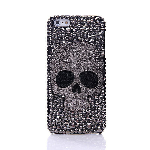Riveted Crystal Skull Case - Cinderbloq Cases & Accessories