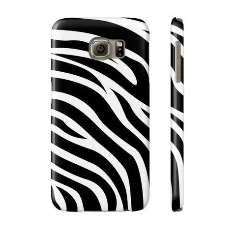 Zebra Print Case - Samsung Galaxy S6 - CinderBloq Cases & Accessories