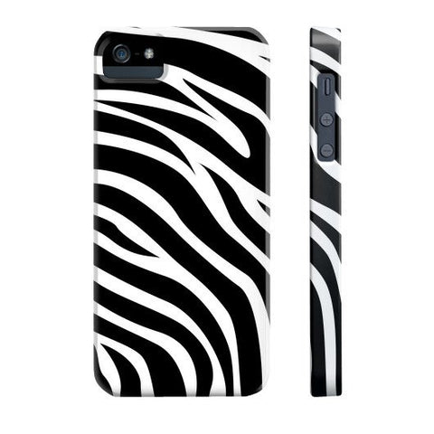 Zebra Print Case - iPhone 5/5s/5se - CinderBloq Cases & Accessories