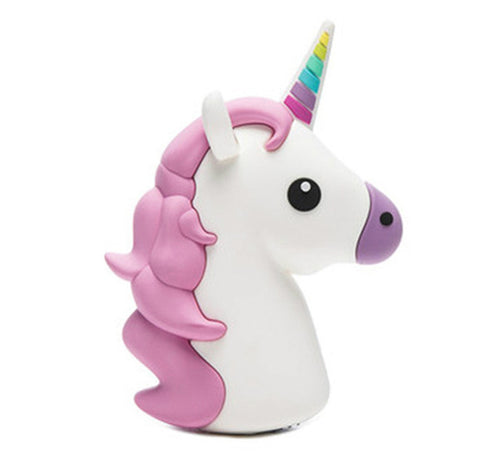 Majestic Unicorn Emoji Powerbank charger for iOS & Android - Cinderbloq Cases & Accessories