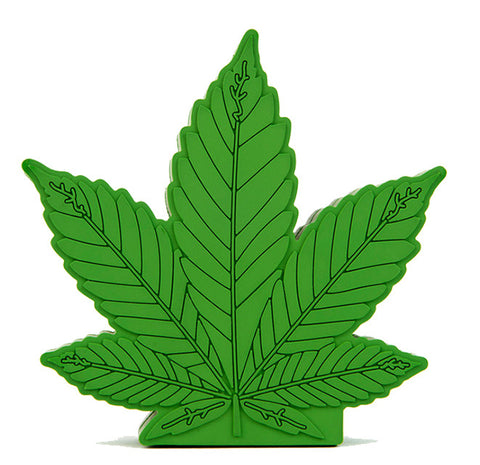 Kush Leaf Emoji Powerbank charger for iOS & Android - CinderBloq Cases & Accessories