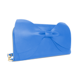 Sienna Jones Marina Clutch in Blue leather