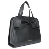 Sienna Jones Marina Bow Bag in Black leather