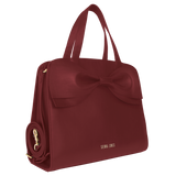 Princess Marina Bow Bag - Wine