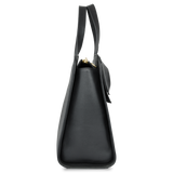 Sienna Jones Marina Bow Bag in Black - Side