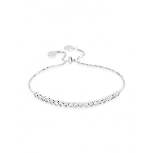 Friendship Bracelet - Rhodium Plated