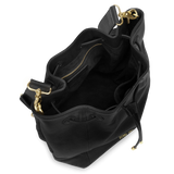 Sienna Jones Classic Bucket Bag in Black - Fully lined