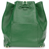 Sienna Jones Classic Bucket Bag in green - Reverse