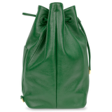 Sienna Jones Classic Bucket Bag in green - Side