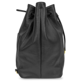 Sienna Jones Classic Bucket Bag in Black - Side