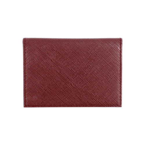Sienna Jones card holder in red - Reverse