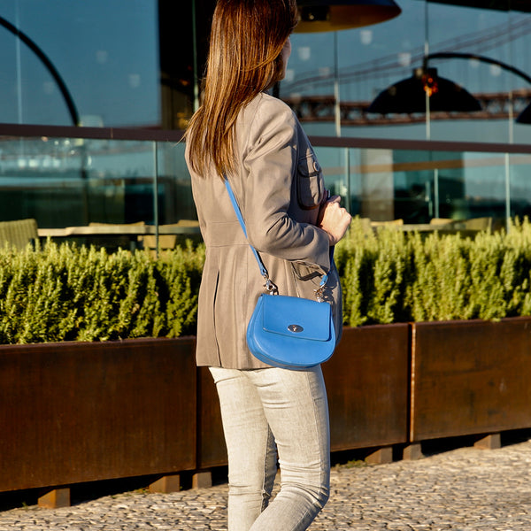 The Cross Body Bag - Marina Blue