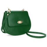 Sienna Jones Cross Body Bag in green - Detachable straps