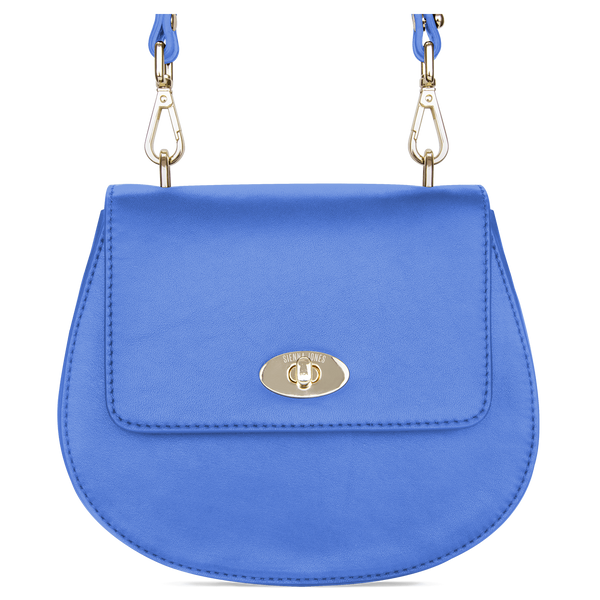 Sienna Jones Cross Body Bag in blue leather