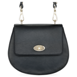 Sienna Jones Cross Body Bag in Black leather