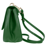 Sienna Jones Cross Body Bag in green - side