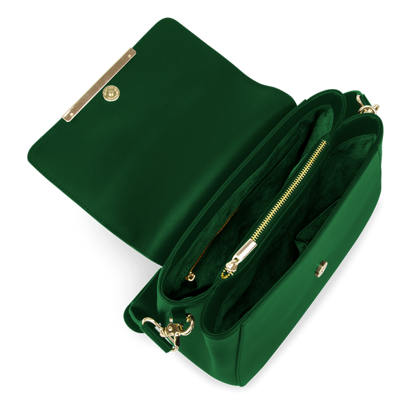 Sienna Jones Large Cross Body Green - Fully lined