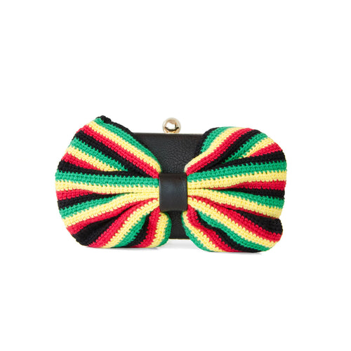 Limited Edition Crochet Bow Clutch