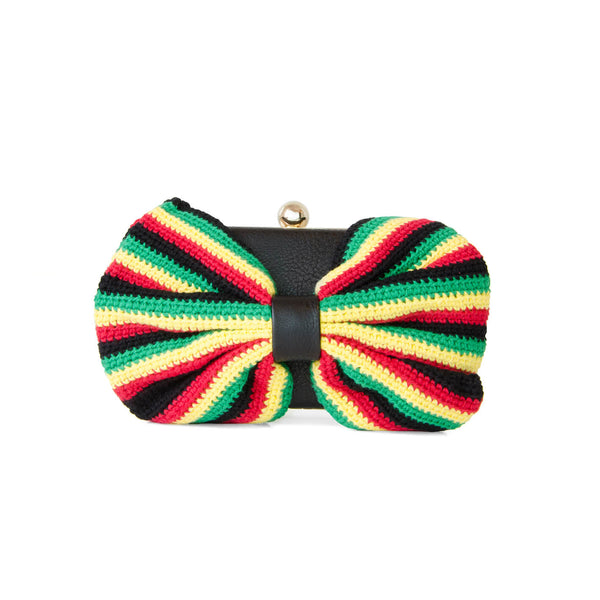 Limited Edition Bow Clutch - Crochet