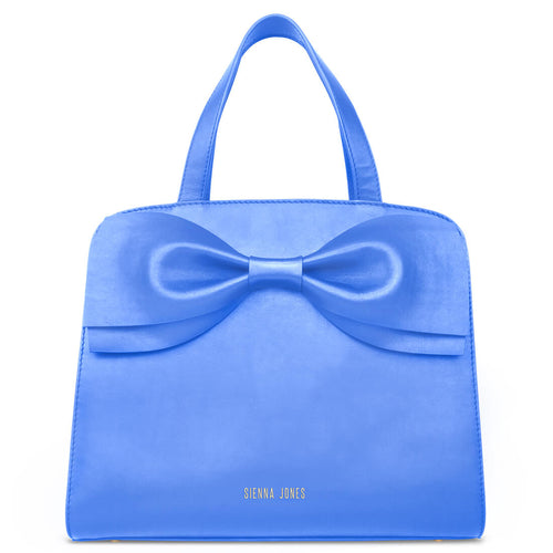 Marina Bow Bag - Marina Blue