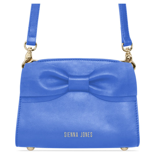 Marina Mini Bow Bag - Marina Blue