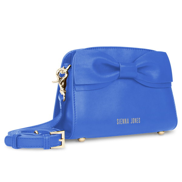 Mini Marina Bow Bag Blue