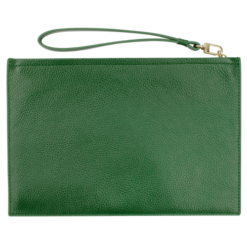 Sienna Jones Classic Pouch in Green - Reverse