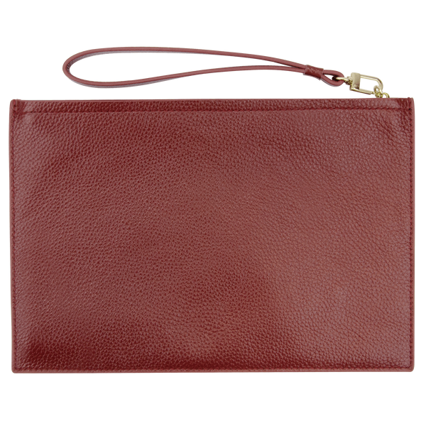 Sienna Jones Classic Pouch in Red - Reverse