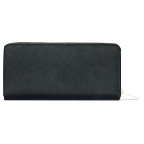 Sienna Jones Zip Around Purse in Black - Reverse