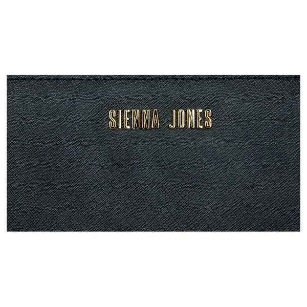 Sienna Jones Zip Around Purse in Black