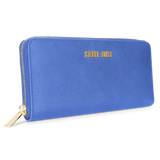 Sienna Jones Zip Around Purse in Blue