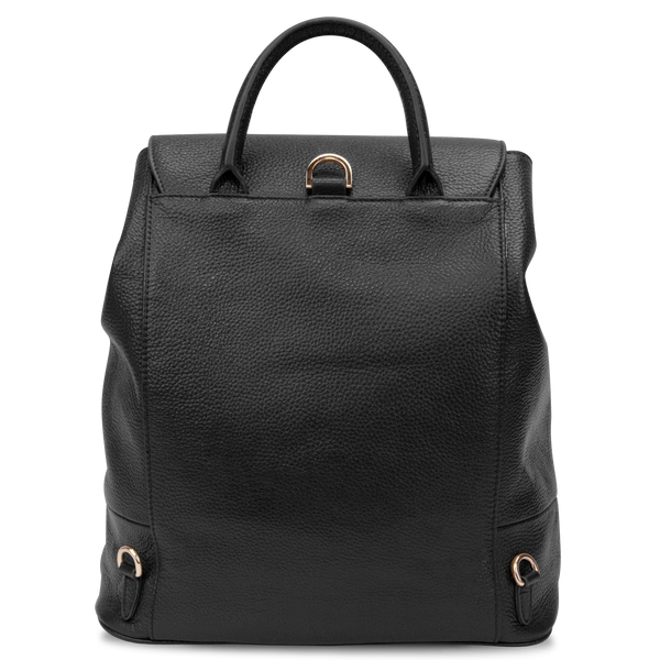 Sienna Jones Classic Backpack in black - Reverse