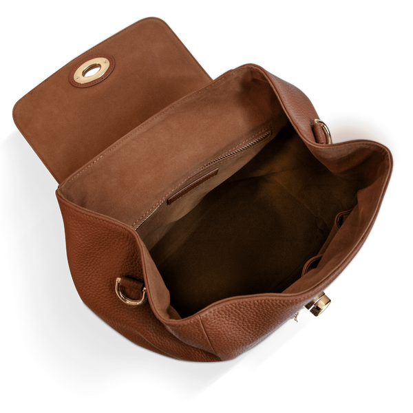 The Classic Backpack - Brown