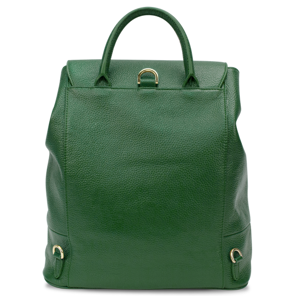 Sienna Jones Classic Backpack in green - Reverse
