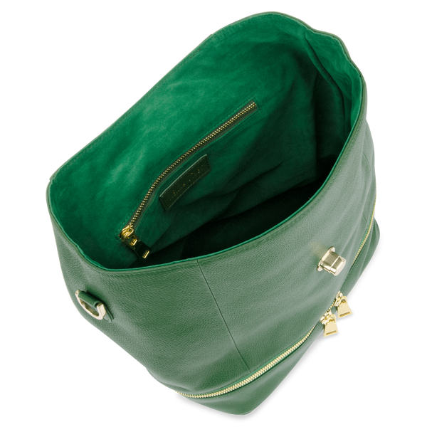 Sienna Jones Classic Backpack in green - Fully lined