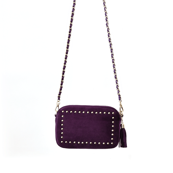 Sophie Stanbury Cross Body Bag - Aubergine