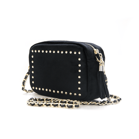 Sophie Stanbury Cross Body Bag - Black & White Python