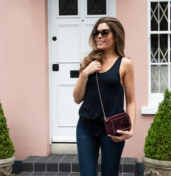 Sophie Stanbury Cross Body Bag - Burgundy