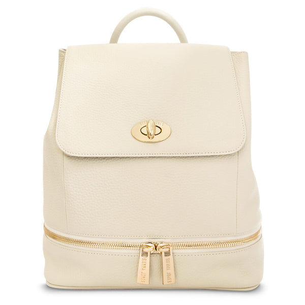 The Classic Backpack - Beige