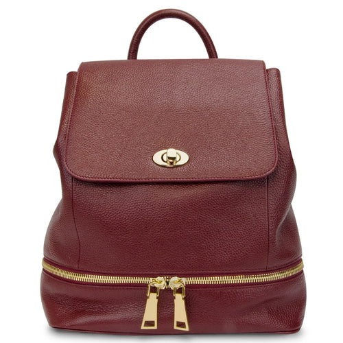 The Classic Backpack - Red