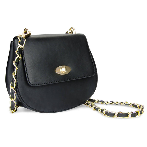 The Cross Body Bag - Raven Black