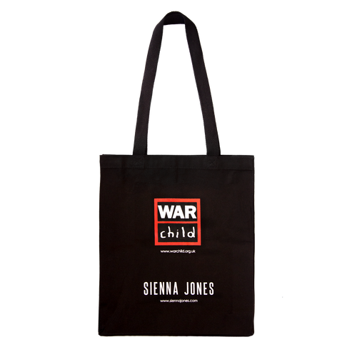 Sienna Jones War Child Tote bag in Black - Back