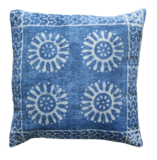 Guncha Indigo Cushion