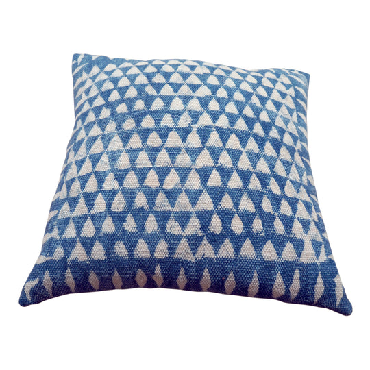 Tikoni Indigo Cushion