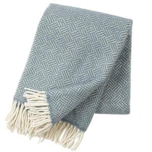 Klippan Samba Lead Grey 100% Lambswool Blanket