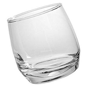 Bar Whiskey Glasses, Rounded Base (6pack)